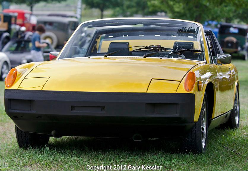 Porsche 914,Keeneland Concours D'Elegance,Lexington,Ky.