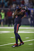 Houston Texans running back Tyler Ervin (21) in action during the NFL week 8 regular season football game against the Miami Dolphins on Thursday, Oct. 25, 2018 in Houston. The Texans won the game 42-23. (©Paul Anthony Spinelli)