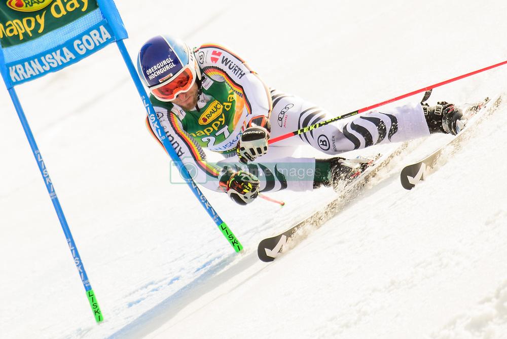 March 9, 2019 - Kranjska Gora, Kranjska Gora, Slovenia - Fritz Dopfer of Germany in action during Audi FIS Ski World Cup Vitranc on March 8, 2019 in Kranjska Gora, Slovenia. (Credit Image: © Rok Rakun/Pacific Press via ZUMA Wire)
