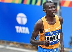 01-11-2015 USA: NYC Marathon, New York<br /> De dag van de marathon, 42 km en 195 meter door de straten van Staten Island, Brooklyn, Queens, The Bronx en Manhattan / Winnaar Stanley Biwott KEN 2:10:34