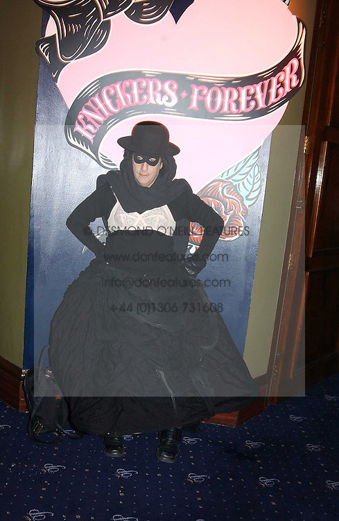PHILIP SALON at a party and fashion show by Agent Provocateur at the Cafe de Paris, Coventry Street, London W1 on 14th February 2005.<br /><br />NON EXCLUSIVE - WORLD RIGHTS