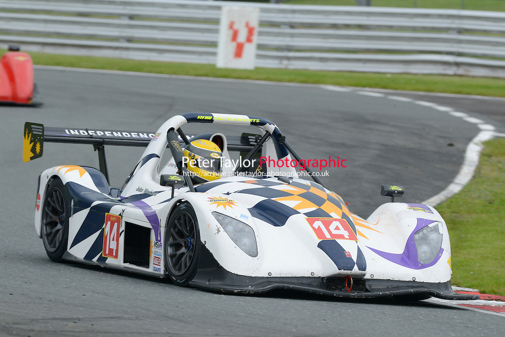 #14 John MACLEOD SR3 RSX during Radical Sprint Championship as part of the MSVR Oulton Park  20th June 2015 at Oulton Park, Little Budworth, Cheshire, United Kingdom. June 20 2015. World Copyright Taylor/PSP. Copy of publication required for printed pictures.  Every used picture is fee-liable. http://archive.petertaylor-photographic.co.uk