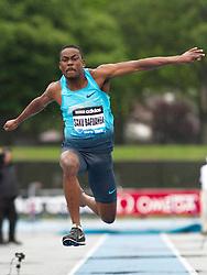adidas Grand Prix Diamond League professional track & field meet: mens triple jump, Gaetan SAKU BAFUANGA, France