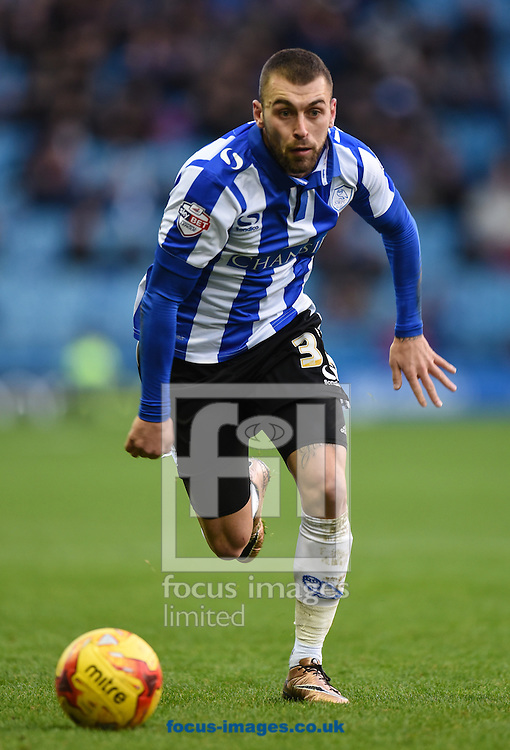 Jack Hunt of Sheffield Wednesday in action during the Sky Bet Championship match at Hillsborough, Sheffield<br /> Picture by Richard Land/Focus Images Ltd +44 7713 507003<br /> 20/12/2015