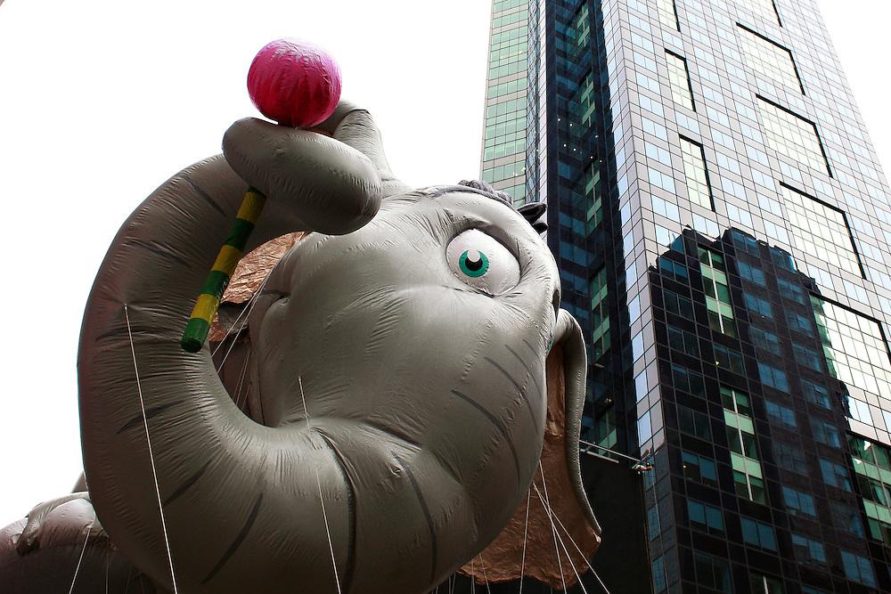 Macys Thanksgiving Parade. Midtown, Manhattan