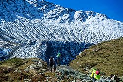 16-09-2017 FRA: BvdGF Tour du Mont Blanc day 7, Beaufort<br /> De laatste etappe waar we starten eindigen we ook weer na een prachtige route langs de Mt. Blanc / Xander, Carlos