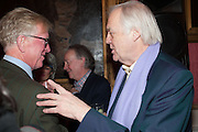 DAVID ASTOR; SIR TIM RICE, The Literary Review Bad Sex fiction award 2012. The In and Out Club, 4 St. james's Sq. London. 4 December 2012