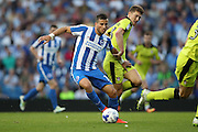 Brighton & Hove Albion's centre forward Tomer Hemed (10) during the EFL Sky Bet Championship match between Brighton and Hove Albion and Rotherham United at the American Express Community Stadium, Brighton and Hove, England on 16 August 2016.