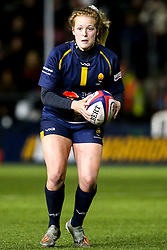 Sarah Nicholas of Worcester Warriors Women - Mandatory by-line: Robbie Stephenson/JMP - 11/01/2020 - RUGBY - Sixways Stadium - Worcester, England - Worcester Warriors Women v Richmond Women - Tyrrells Premier 15s