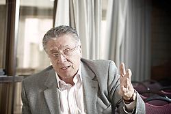 O publicitário José Maurício Pires Alves (Ex-superintendente RBS,Rede Bandeirantes,Ex-Presidente APP, durante entrevista. FOTO: Jefferson Bernardes/Preview.com