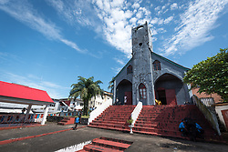 3 November 2019, Monrovia, Liberia: The Providence Baptist Church, also known as 'the cornerstone of the nation', as it was in here that Liberia's declaration of independence was signed.
