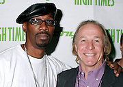 NEW YORK - OCTOBER 24: Comedians Charlie Murphy and Jackie Martling attend the 6th Annual High Times Stony Awards at B.B. King's on October 20, 2006 on Broadway in New York City.