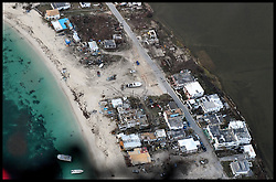 September 12, 2017 - Caribbean, Anguilla - Aerial view of Anguilla, the storm hit islands which has been hit by Hurricane Irma.  (Credit Image: © Andrew Parsons/i-Images via ZUMA Press)