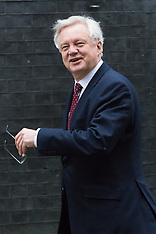 2017-02-09 Brexit Minister David Davis in Downing Street