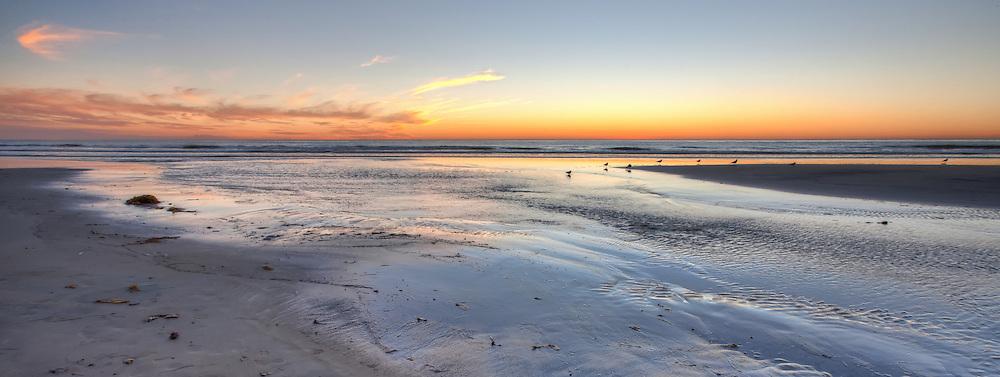 San Elijo Beach sunset, Encinitas, California