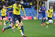 Oxford United defender Rob Dickie (4) on defensive duties during the EFL Sky Bet League 1 match between Oxford United and Sunderland at the Kassam Stadium, Oxford, England on 15 February 2020.
