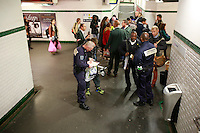Paris Metro - police at Republique closing line 8 because of suspicious package on the side of the tracks