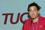 Roger King, NUT Executive, speaking at the TUC, Brighton 2007...© Martin Jenkinson, tel 0114 258 6808 mobile 07831 189363 email martin@pressphotos.co.uk. Copyright Designs & Patents Act 1988, moral rights asserted credit required. No part of this photo to be stored, reproduced, manipulated or transmitted to third parties by any means without prior written permission
