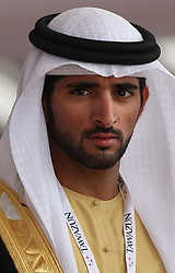 Crown Prince of Dubai Hamdan bin Mohammed Al Maktoum   Photo by: Stephen Lock/i-Images