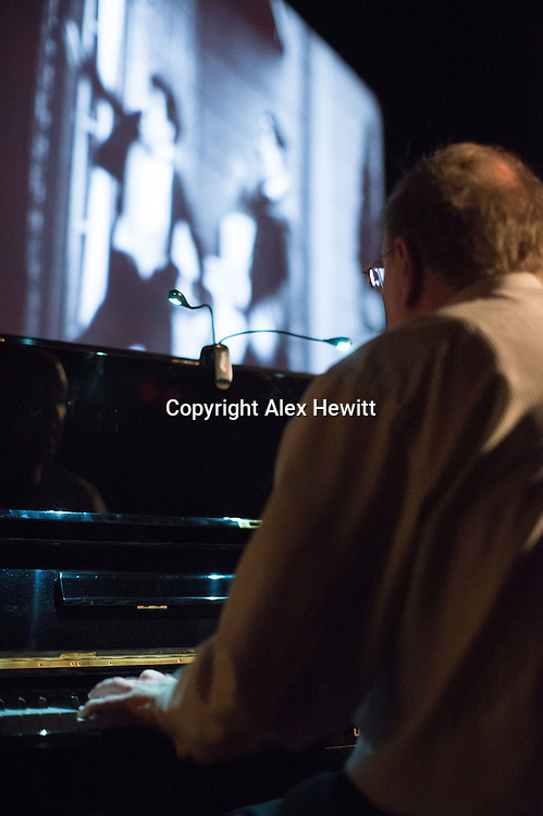 The Hippodrome Festival of Silent Cinema <br /> Wednesday 18th March - Sunday 22nd March 2015.<br /> <br /> Opening Day, Wednesday 18th March<br /> Forrester Pyke plays the piano accompaniment <br /> <br /> Picture by Alex Hewitt