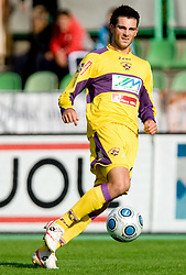 Miral Samardzic of Maribor  at 13th Round of Prva Liga football match between NK Olimpija and Maribor, on October 17, 2009, in ZAK Stadium, Ljubljana. Maribor won 1:0. (Photo by Vid Ponikvar / Sportida)