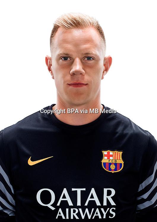 Spain - Liga BBVA 2015-2016 / <br /> ( Fc Barcelona ) - <br /> Marc-Andre Ter Stegen