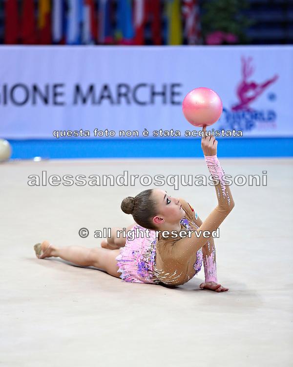 Maria Titova was born August 19, 1997 in Zarechny is a Russian retired individual rhythmic gymnast.