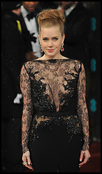 Amy Adams nominated best leading actress for the Oscars 2014.<br /> Amy Adams during the British Academy Film Awards, The Royal Opera House, Bow Street, London, UK, Sunday February 10, 2013. Photo by Andrew Parsons / i-Images