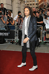 © Licensed to London News Pictures. 03/09/2013, UK. Russell Brand, GQ Men of the Year Awards, Royal Opera House, London UK, 03 September 2013e. Photo credit : Richard Goldschmidt/Piqtured/LNP
