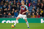 Burnley defender Ben Mee (6) during the Premier League match between Burnley and West Ham United at Turf Moor, Burnley, England on 30 December 2018.