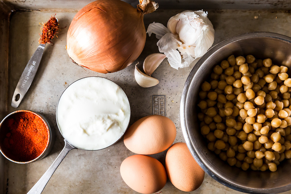 Chickpea Stew Ingredients