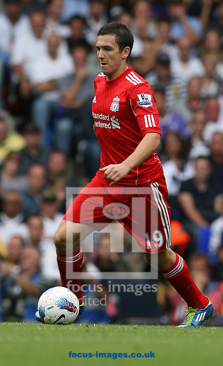 Picture by Paul Terry/Focus Images Ltd..18/9/11.Stewart Downing of Liverpool during the Barclays Premier League match at White Hart Lane stadium, London.