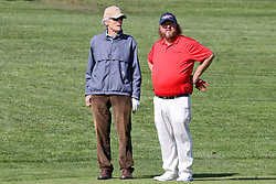 """Feb 6, 2019 Pebble Beach, Ca. USA TV, Film and singing stars that included Winners, CLINT EASTWOOD and COLT FORD all played in the """"3M Celebrity Challenge"""" to try for part of the 100K purse to go to their favorite charity and win the Estwood-Murray cup, for which team Clint Eastwwod's group won.. The event took place during practice day of the PGA AT&T National Pro-Am golf on the Pebble Beach Golf Links. Photo by Dane Andrew c. 2019 contact: 408 744-9017  TenPressMedia@gmail.com"""