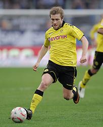 FUSSBALL   1. BUNDESLIGA   SAISON 2010/2011  26. SPIELTAG    12.03.2011 TSG 1899 Hoffenheim  - Borussia Dortmund Jakub  Blaszczykowski (Borussia Dortmund) mit Ball