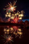 Saffron Fields Vineyard 7-3-2020 fireworks