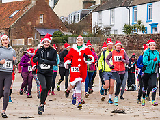 Santa Beach Run, North Berwick, 15 December 2018 2018