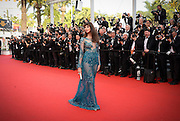 FREDERIQUE BEL- OPENING THE 68th CANNES FILM FESTIVAL - RED CARPET ' HIGH HEAD '<br /> ©Exclusivepix Media