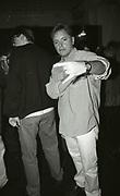Bernard Sumner, Backstage at New Order, The Haçienda, 1989