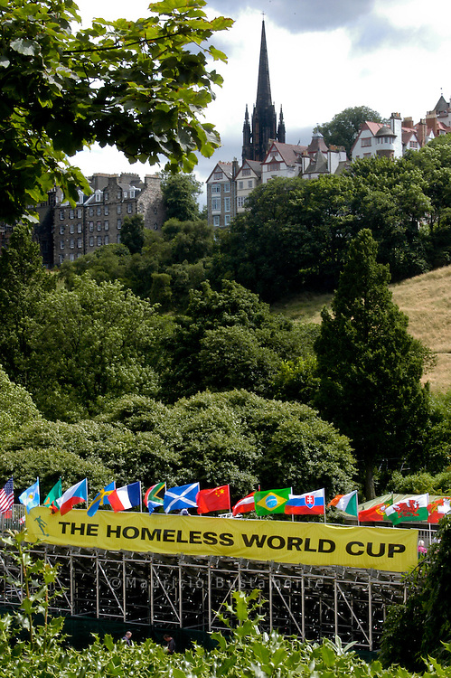 Homeless World Cup, Edinburgh