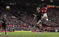 Photo: Paul Thomas.<br /> Manchester United v Charlton Athletic. The Barclays Premiership. 10/02/2007.<br /> <br /> Ji-sung Park (R) scores his goal for Man Utd.