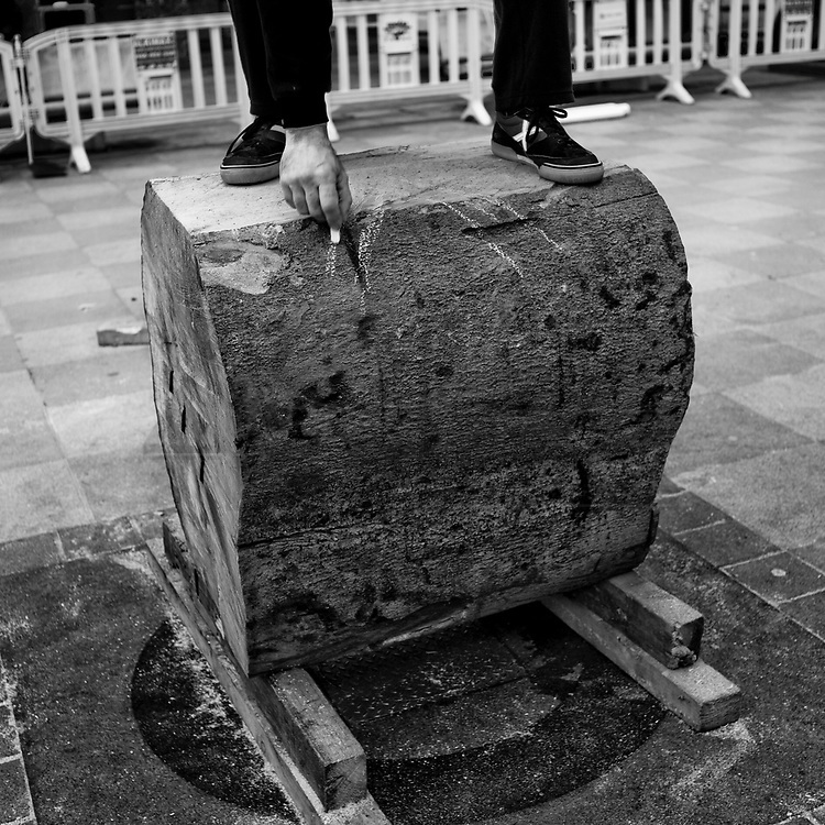 Exhibition in Berriz. Basque rural sports (Herri Kirolak in basque language) are rooted in traditional lifestyles, mostly farmer occupations of the Basque Country, in Northern Spain. Nowadays they have transform themselves into sports based in strenght and skill. Stone lifting and wood chopping are the most popular.