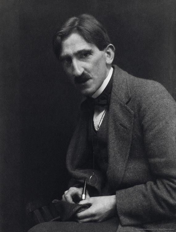 Frederick Niven, author, England, UK, 1912