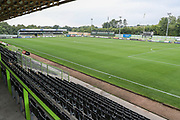 The New Lawn, home of Forest Green Rovers during the EFL Trophy match between Forest Green Rovers and Cheltenham Town at the New Lawn, Forest Green, United Kingdom on 4 September 2018.