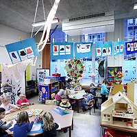 Nederland, Amsterdam , 12 januari 2011..Ventilatiesysteem in de klaslokalen van de Annie M.G. Schmidtschool basisschool in Oud West.Foto:Jean-Pierre Jans