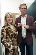 NAN RICHARDS; NOAH SILBERSCHMIDT, Opening of Dairy with Quicksand- John M. Armleder. Dairy art Centre. ~Bloomsbury. 24 April 2013.