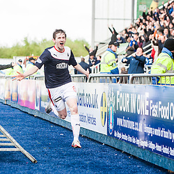 Falkirk 3 v 1 Queen of the South, Scottish Premiership play-off quarter-final second leg
