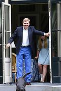 Koninklijke fotosessie 2016 op landgoed De Horsten ( het huis van de koninklijke familie)  in Wassenaar.<br /> <br /> Royal photoshoot 2016 at De Horsten estate (the home of the royal family) in Wassenaar.<br /> <br /> Op de foto / On the photo: <br /> <br />  Koning Willem-Alexander en prinses Amalia<br /> <br /> King Willem-Alexander and princeses Amalia