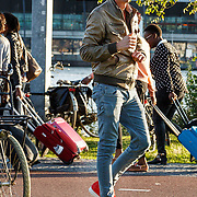 NLD/Amsterdam/20150828 - Schrijver Peter Buwalda