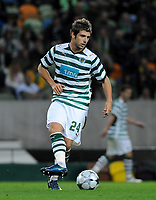 20090425: The Portuguese League is home to a growing number of African, Brazilian and Argentinean promising young players. ***FILE PHOTO*** 20081104: LISBON, PORTUGAL - Sporting Lisbon vs FC Shakhtar Donetsk: Champions League 2008/2009. In picture: Miguel Veloso (Sporting). PHOTO: Alvaro Isidoro/CITYFILES
