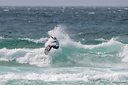 Ellie Turner (UK) during the Boardmasters WSL Women's Roxy Pro Surf Championships at Fistral Beach,  Newquay, Cornwall, United Kingdom on 9 August 2019.